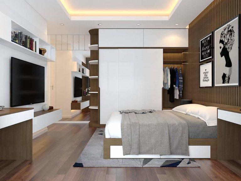 Thiết kế phòng ngủ chính của bố mẹ