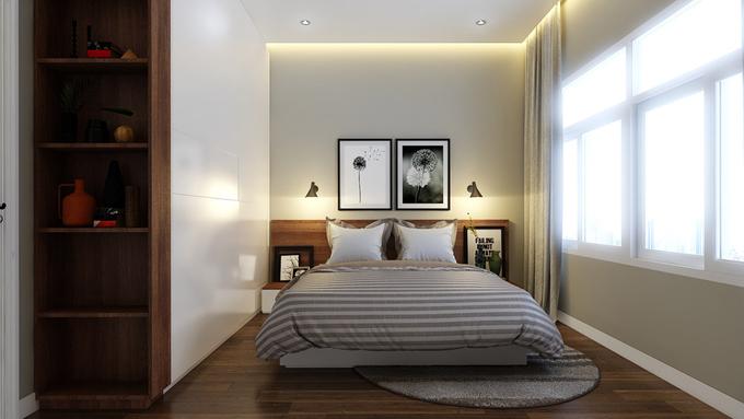 Phòng ngủ của con bạn có thể thoải mái mở cửa ra sân sau