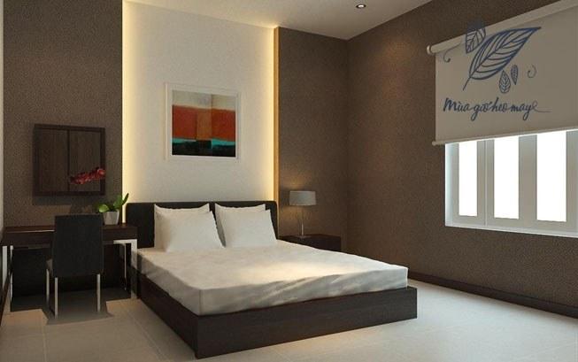 Phòng ngủ của mẹ anh Hùng