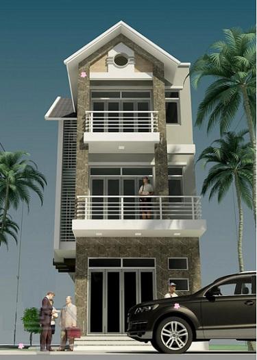 Mẫu 3 - Mẫu thiết kế nhà 7x15m 3 tầng phong cách tân cổ điển