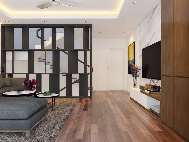 Cầu thang thiết kế uốn lượn