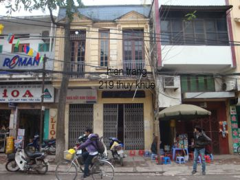 Cải tạo nhà lô phố ở Hà Nội