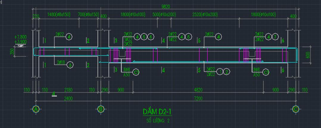 Cách bố trí thép dầm đúng cách khi xây nhà ống, nhà phố - Ảnh minh họa 01