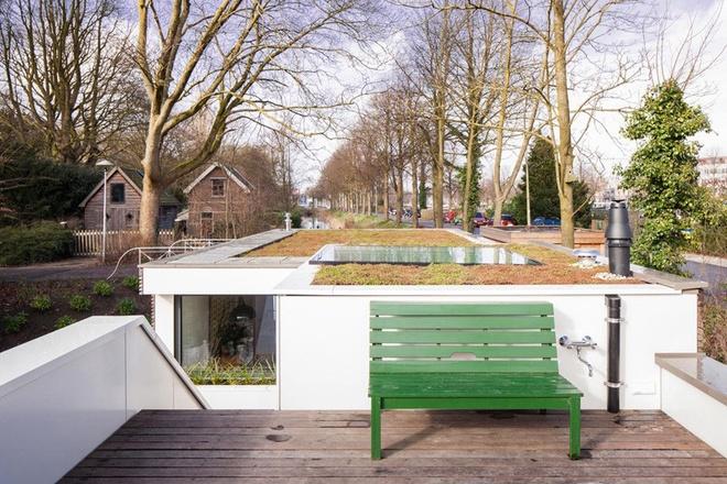 Phối cảnh dành cho mẫu nhà ống đẹp 2 tầng trên mặt nước-07