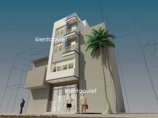 Mẫu thiết kế nhà ống 4 tầng