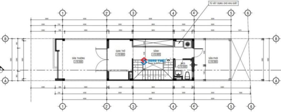 Mẫu thiết kế nhà phố 5m mặt tiền hiện đại