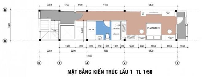 Mẫu thiết kế nhà 4 tầng độc đáo tiện nghi-3