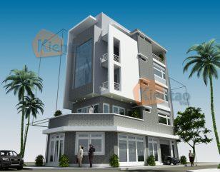 Mẫu thiết kế + Bản vẽ công năng nhà ống 5 tầng tại Thanh Trì