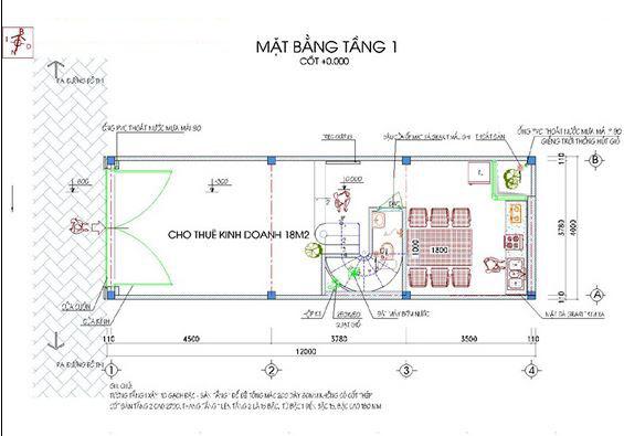 Mẫu nhà ống đẹp hiện đại 5 tầng 50m2. 1