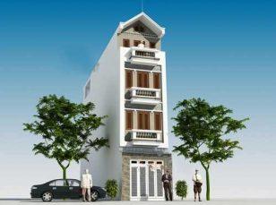 Mẫu nhà phố đẹp 4 tầng hiện đại 3,5x18m