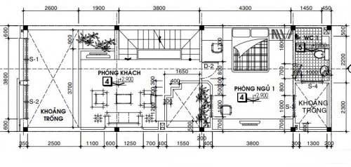 mẫu thiết kế nhà ống 3 tầng