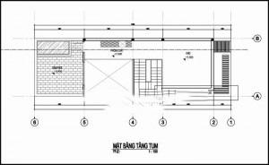 Mẫu thiết kế nhà ống đẹp 3 tầng 5x17m. 3