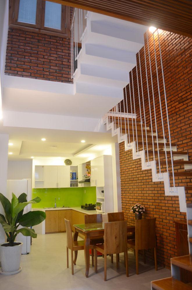 Hình ảnh nội thất mẫu nhà ống lệch tầng 3.5x12m cao 4 tầng - Ảnh 03