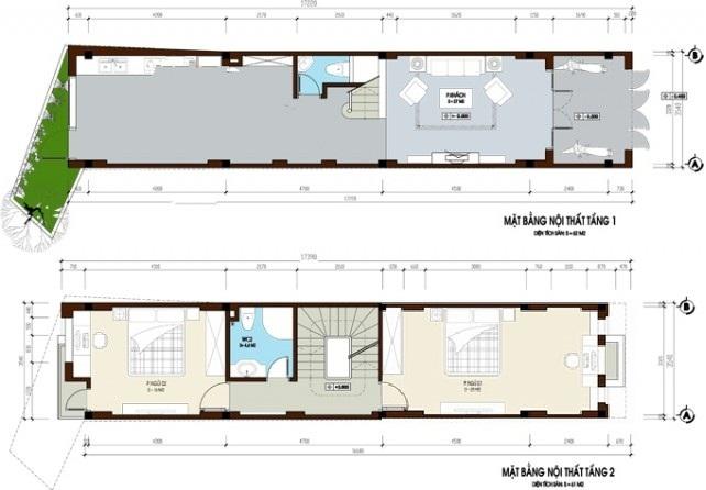 Mẫu thiết kế nhà ống đẹp 4 tầng hiện đại 3,5x18m. 2