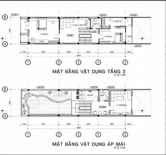 Mẫu thiết kế nhà ống đẹp 4 tầng tinh tế. 2
