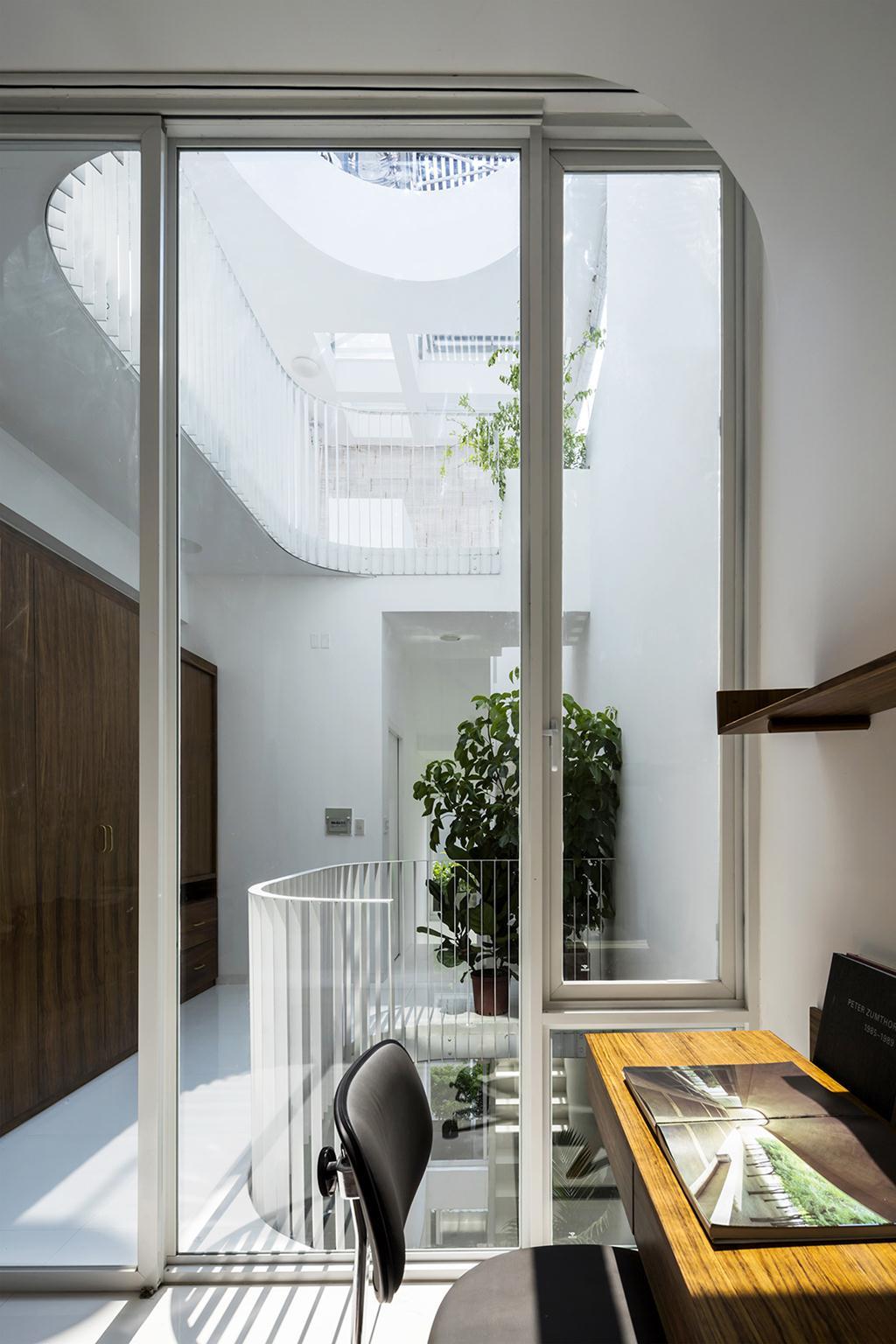 Mẫu thiết kế nhà ống đẹp 4 tầng tuyệt đẹp. 3