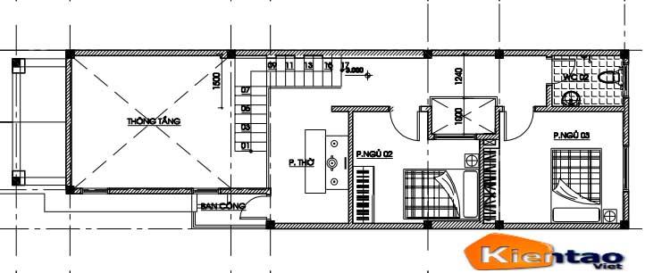mẫu thiết kế nhà ống đẹp