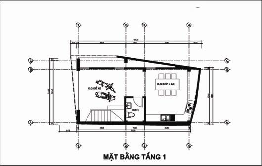 Mẫu thiết kế nhà ống đẹp 5 tầng 4,5x12m. 1