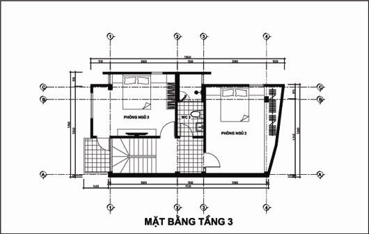 Mẫu thiết kế nhà ống đẹp 5 tầng 4,5x12m. 3