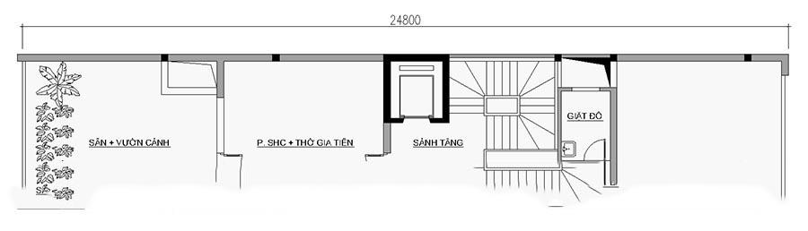 Mẫu thiết kế nhà ống đẹp 7 tầng cho thuê. 5
