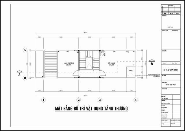 Mẫu thiết kế nhà ống đẹp hiện đại 4 tầng. 4