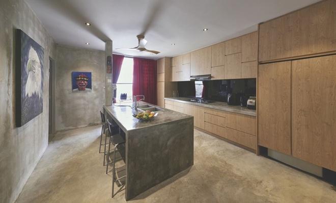 Phòng bếp - Mẫu thiết kế nhà ống đẹp mát mắt