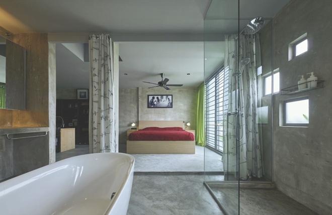 Phòng ngủ - Mẫu thiết kế nhà ống đẹp mát mắt