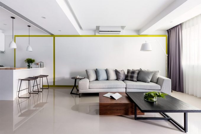 Trang trí nội thất phòng khách mẫu thiết kế nhà ống đẹp hợp phong thủy