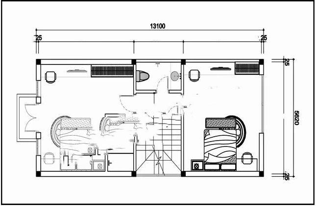 Mẫu thiết kế nhà phố 3 tầng mái thái 70m2. 2