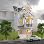 Thiết kế nhà lô phố phong cách Châu Âu