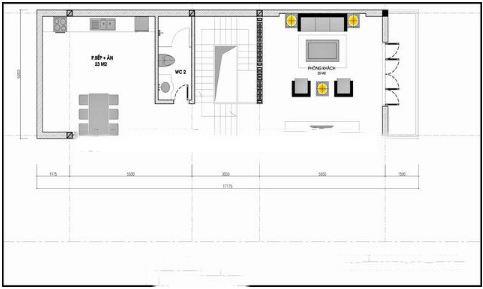 Nhà ống 4 tầng tươi mới hiện đại 5x20m. 3