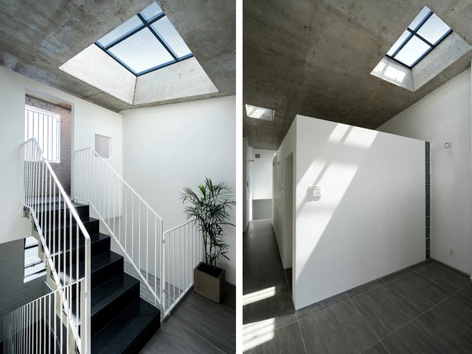 Nhà ống tràn ngập ánh sáng từ những ô cửa sổ. 3
