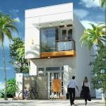 Mẫu thiết kế + Bản vẽ công năng, nội thất nhà ống 2 tầng 3x18m