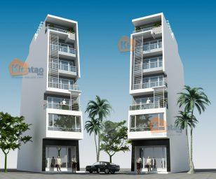 Thiết kế nhà ống 7 tầng tại Tây Hồ, Hà Nội