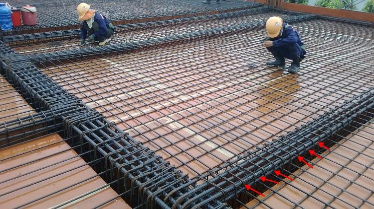 Tìm hiểu cách bố trí thép sàn và vai trò của thép sàn trong xây dựng nhà ống, nhà biệt thự - 1