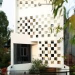 Thiết kế nhà đẹp chắn nắng hướng Tây