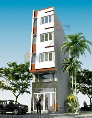 Kien truc nha dep 5 tầng chỉ với 820tr tại Hà Nội