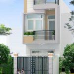 Thiết kế nhà ống 2 tầng cho gia đình nhỏ với diện tích 4x12m