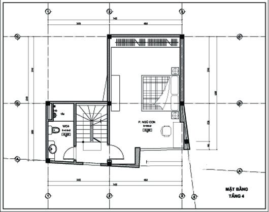 Thiết kế nhà ống 5 tầng 43m2 trẻ trung. 4