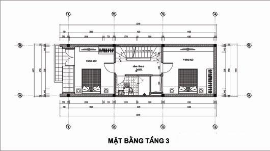 Thiết kế nhà ống 5 tầng 4,4x14,7m. 3