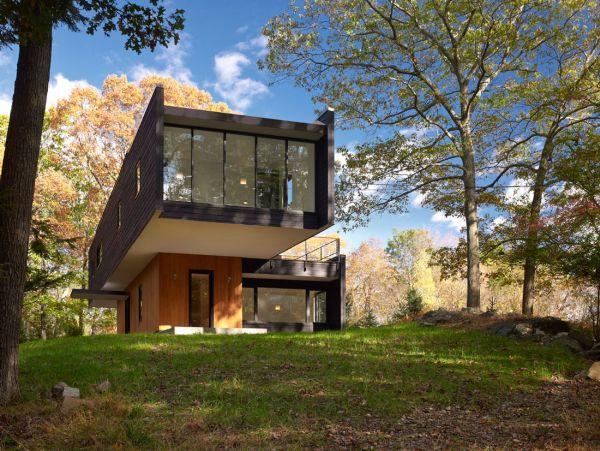 Thiết kế biệt thự hiện đại trong rừng xanh-1