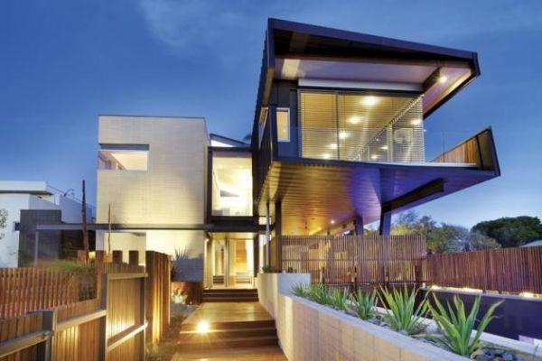 Thiết kế biệt thự hiện đại trong rừng xanh-3