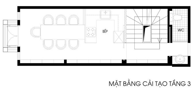 Tư vấn thiết kế nhà ống 5 tầng DT 26m2. 3